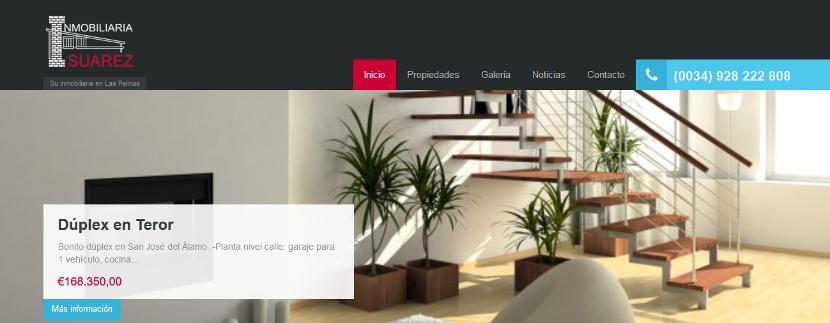 Web Inmobiliaria Suárez